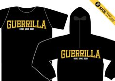 Keep Calm and be GUERRILLA! Low-cost unconventional, unleashed city warriors! TS/LS Comin' Soon by KICK AGENCY su KICK STORE - pre order: store@kickagency.com