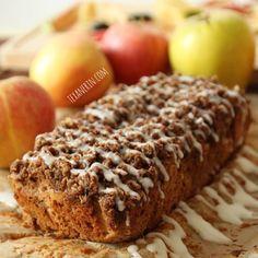 Cinnamon Apple Oatmeal Bread – 100% whole grain, incredibly moist and has the most amazing flavor! | texanerin.com