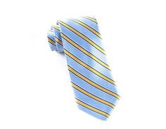 Ties - Bella Stripe - Light Blue