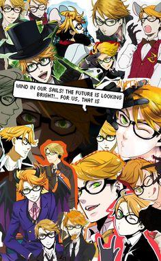 of Atlantic quote//Ronald Knox 😘 my baby cakes Black Butler Anime, Black Butler Funny, Shinigami, Anime Suggestions, Black Butler Kuroshitsuji, Manga Anime, Hot Anime, Anime Guys, Iphone Background Wallpaper