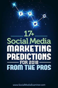 Are you wondering how social media marketing will change this year? The social platforms are constantly changing, and that means marketers need to change as well. To find out how marketing on Facebook, Instagram, Twitter, LinkedIn, and Pinterest will change in the coming year, we reached out to expert social media professionals to get their thoughts. #socialmedia #socialmediamarketing #socialmediaexaminer