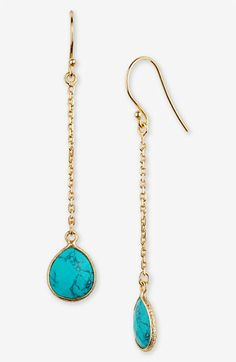Argento Vivo Bauble Bar Linear Earrings (Nordstrom Exclusive) | Nordstrom
