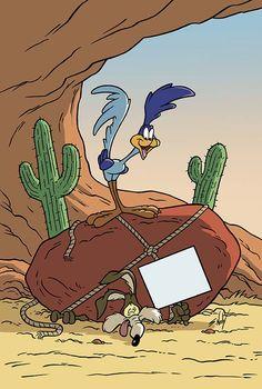 Wile E. Coyote vs Roadrunner