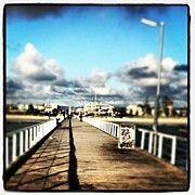 Semaphore Pier Near Adelaide by Andrew Coulson, Canvas Print via Instaprint #instagram #instaprints #adelaide $30