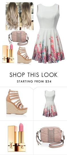 """""""Untitled #62"""" by seminedemir ❤ liked on Polyvore featuring Prada, Yves Saint Laurent and Joelle Hawkens by Treesje"""