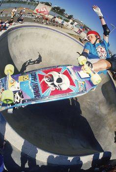 "Mike McGill McTwist 540 Skateboarding Photograph - 16x20"" Eighties Skateboard…"