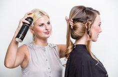 Shooting für L'Oréal Professionnel für die Zeitschrift Lea mit Kertu Fotograf Adrian Bedoy