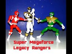 Review Time: Power Rangers Super Megaforce MMPR Red, Green, White Rangers