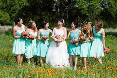 Being Adorable In Pink And Blue - Inspired Bride