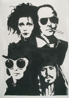 The Many Faces Of Johnny Depp by DickTracy666 on DeviantArt