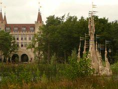Bosrijk, bij de Efteling, met zicht op het Poortgebouw.