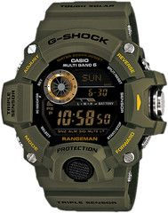 For tough explorers: GShock Rangeman GW9400 equipped with ABC (Altimeter, Barometer & Compass)