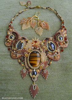Beautiful Atumn inspiration jewelry | Beads Magic