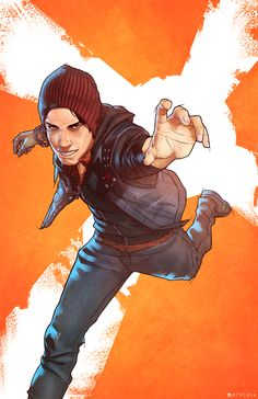 Delsin Rowe by Pryce14 on DeviantArt