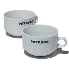 Vintage Mitropa soup cup