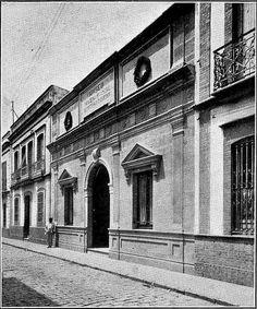 Museo Provincial de las artes. Calle Rico 1920 Louvre, Building, Travel, Fine Art, Antique Photos, Street, Museums, Fotografia, Viajes