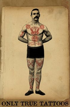 Strong Man Circus Men/'s Tee Image by Shutterstock