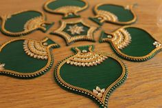 Items similar to Re-usable Kundan Pan Design Rangoli Green New Home Gift Lakshmi Pooja Diwali House Warming on Etsy - Christmas Deesserts Diwali Decoration Items, Thali Decoration Ideas, Kalash Decoration, Traditional Rangoli, Acrylic Rangoli, Special Rangoli, Colorful Rangoli Designs, Diwali Craft, Home Wedding Decorations