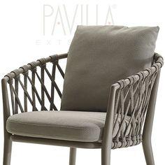 Cane Furniture, Terrazzo, Caviar, Lightning, Armchair, Outdoor, Home Decor, Garden Chairs, Nautical Knots