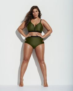 Forever 21 Chooses Ashley Graham to Model Ridiculously Flattering Swimsuits You'll Need Now
