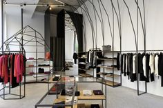 Joseph St Germain store by Raëd Abillama Architects, Beirut - Lebanon