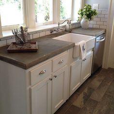 fabulous bathrooms in industrial style rustic style concrete kitchen counterscement - Concrete Kitchen Countertops