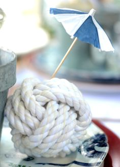 Nautical 4th of July Table Setting that is perfect for any Summer Gathering   Shop the Look