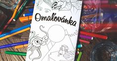 Design for the first colouring book aimed at adults for our friend Laila.