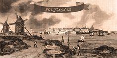 Quand Saint-Malo s'appelait Port-Malo ... Saint Servan, Saint Louis, Saint Michel, Rue Sainte Anne, Rue Sainte Catherine, Duchesse Anne, St Malo, Saint Sauveur, Saints