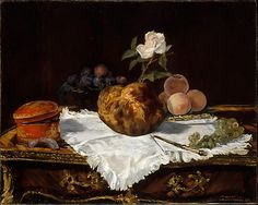The Brioche  Édouard Manet  (French, Paris 1832–1883 Paris)