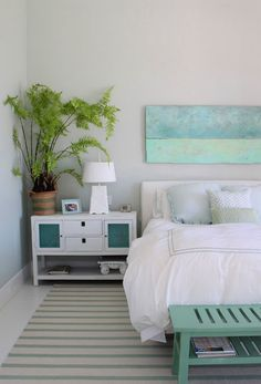 House of Turquoise: Molly Frey Design - love the weathered blue boards