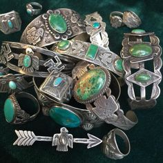 Love turquoise  I call it my second birthstone!!