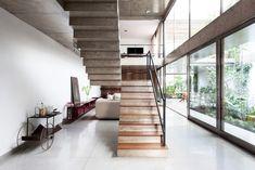 Jardins, House, Urban, Jungle, Concrete, interior, industrial, living, room, art, collection