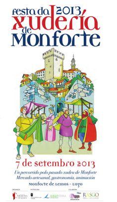 Este sábado 7 de septiembre, Fiesta de la Judería de #MonforteDeLemos