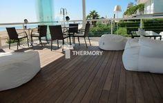 HIT! Deski tarasowe: Thermory Thermo Jesion Amerykański - Wood Market. Deski tarasowe, Tarasy, Elewacje drewniane, Impregnaty.