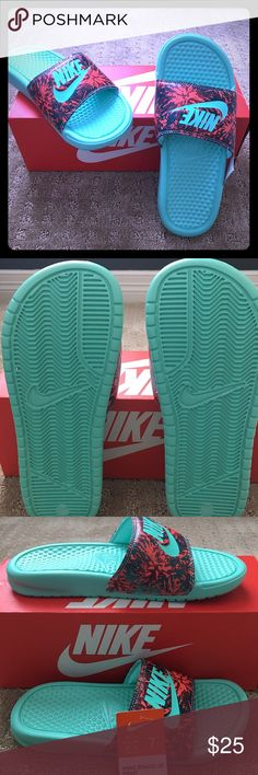 Nike Slides Nike woman Slides. Brand new with box and tags. Never worn Nike Shoes Sandals