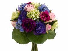 Blue Purple Bouquet FBQ387-BL/PU