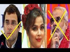 Tanisha Singh - I support RAHUL GANDHI not NARENDRA MODI.