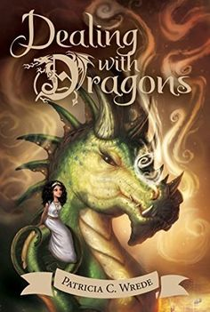 Dealing with Dragons : The Enchanted Forest Chronicles, Book One by Patricia C. Wrede Princess Cimorene, the daughter of a very proper king, runs away to live with a very powerful dragon, Kazul. Best Fantasy Book Series, Fantasy Books, Fantasy Characters, Mighty Girl, Beach Reading, Happy Reading, Fantasy Dragon, Dragon Art, Chapter Books