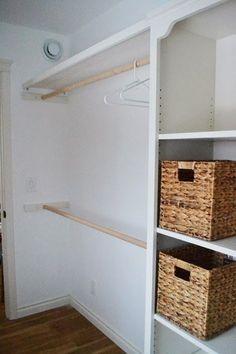 Hacer un closet, en realidad es muy sencillo y no tienes que invertir un gran presupuesto.