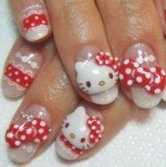 Image Detail for - New Hello Kitty Nail Designs | NailsShine.com