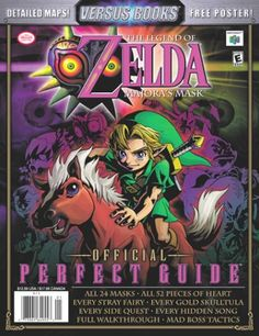 The Legend of Zelda: Majora's Mask Official Perfect Guide (Versus Books) « Library User Group