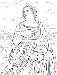 stmaria goretti coloring page and notebook page the saints pinterest st maria goretti st maria and catholic crafts