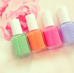 Summery Essie Nail Polishes