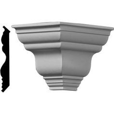 Beautiful moulding is a great way to separate and define each room. With each design modeled after traditional plaster type mouldings, our lightweight polyurethane mouldings give the same rich detail, yet at a fraction of the cost. Most moulding profiles can be partnered with our do-it-yourself corner blocks that means no miter cutting for you and most rooms can be completed in ours instead of days. Another benefit of polyurethane is it will not rot or crack and is impervious to insect… Chair Rail Molding, Panel Moulding, Crown Molding, Moldings, Outside Corner Moulding, Ceiling Finishes, Ceiling Materials, Moulding Profiles, Colored Ceiling