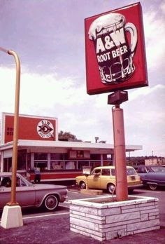 A Drive in Restaurant This was the best root beer and always came in a frosty cold mug.