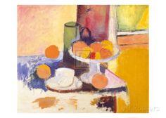 Still Life with Oranges Kunstdruk