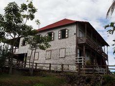 haciendas cafetaleras de puerto rico | Vista lateral de la Hacienda el Porvenir, la cual, según se afirma,