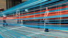 Ribbon Cutting Ceremony At Bath Spa University By Designer Anna Glasbrook