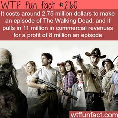 What it cost to make a single episode of The Walking Dead -WTF fun facts